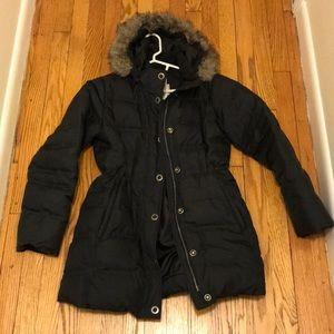 EDDIE BAUER down coat. size medium